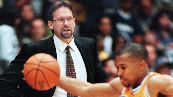 Kurt Rambis and Derek Fisher