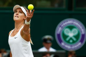 Eugenie Bouchard, who won only three games against Petra Kvitova, hadn't lost a set heading into the final.