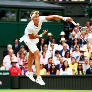 Petra Kvitova needed only 55 minutes to win her second Wimbledon title.