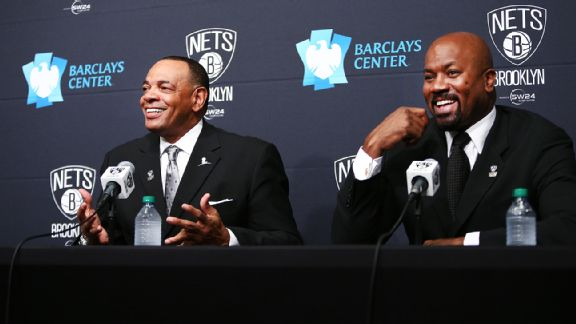 Lionel Hollins and Billy King