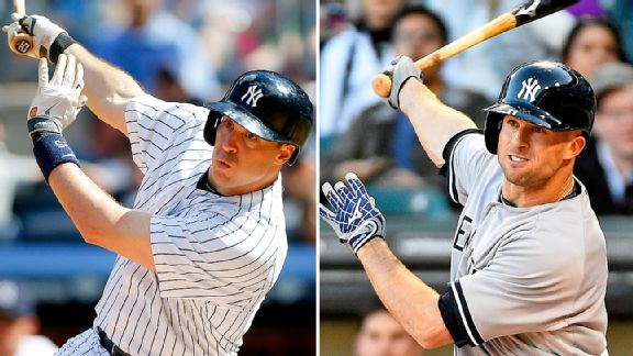 Mark Teixeira and Brett Gardner