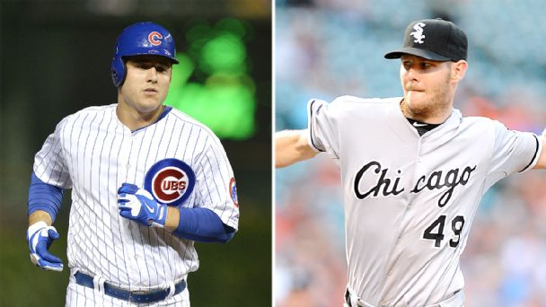 Anthony Rizzo and  Chris Sale