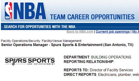 Spurs Job