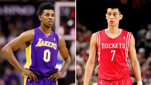 Jeremy Lin, Nick Young