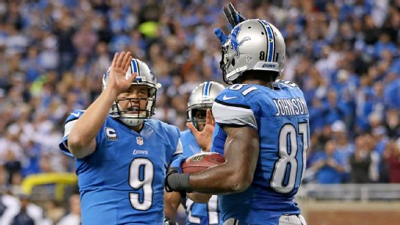 Matthew Stafford, Calvin Johnson