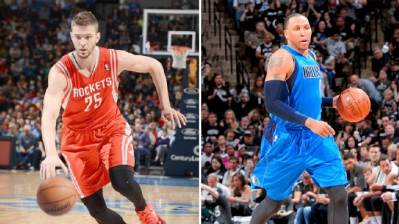 Chandler Parsons and Shawn Marion