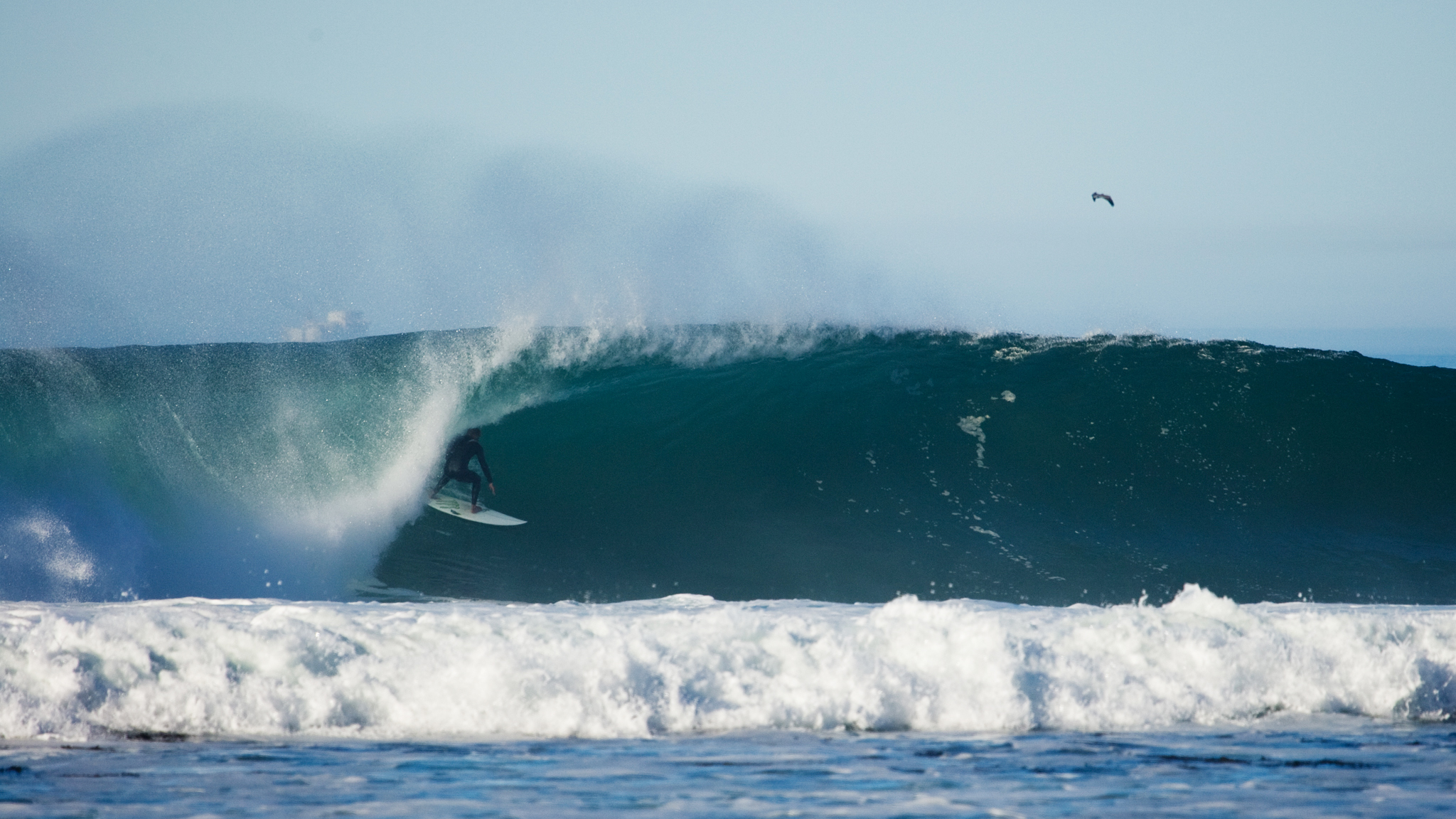 There are a lot of mysto, secret spots once one ventures north of Santa Barbara. Years removed from his world tour career, Bobby Martinez knows all of them.