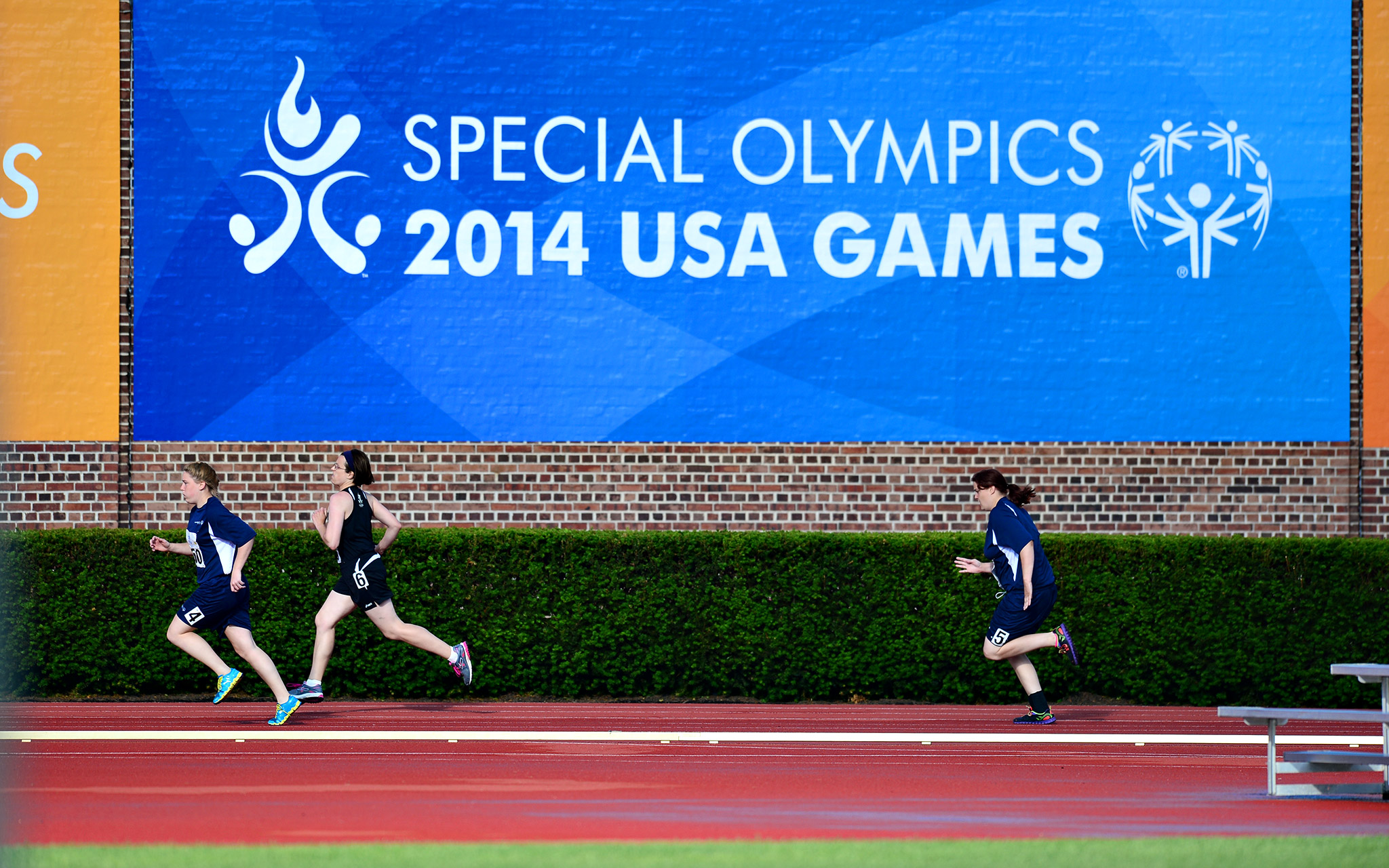 Princeton University's Weaver Track hosted track and field events for the 2014 Special Olympics USA Games for men and women. The 2015 World Games, which will be seen on ESPN, start a year from Friday, July 25.