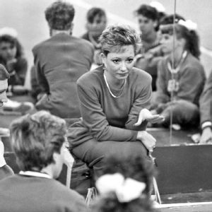 Sarah Patterson took over as head coach in 1978, at age 22. It was the only job she ever held during her coaching career.