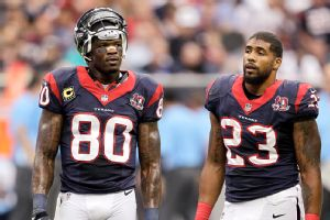 Andre Johnson and Arian Foster