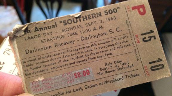 Darlington Ticket