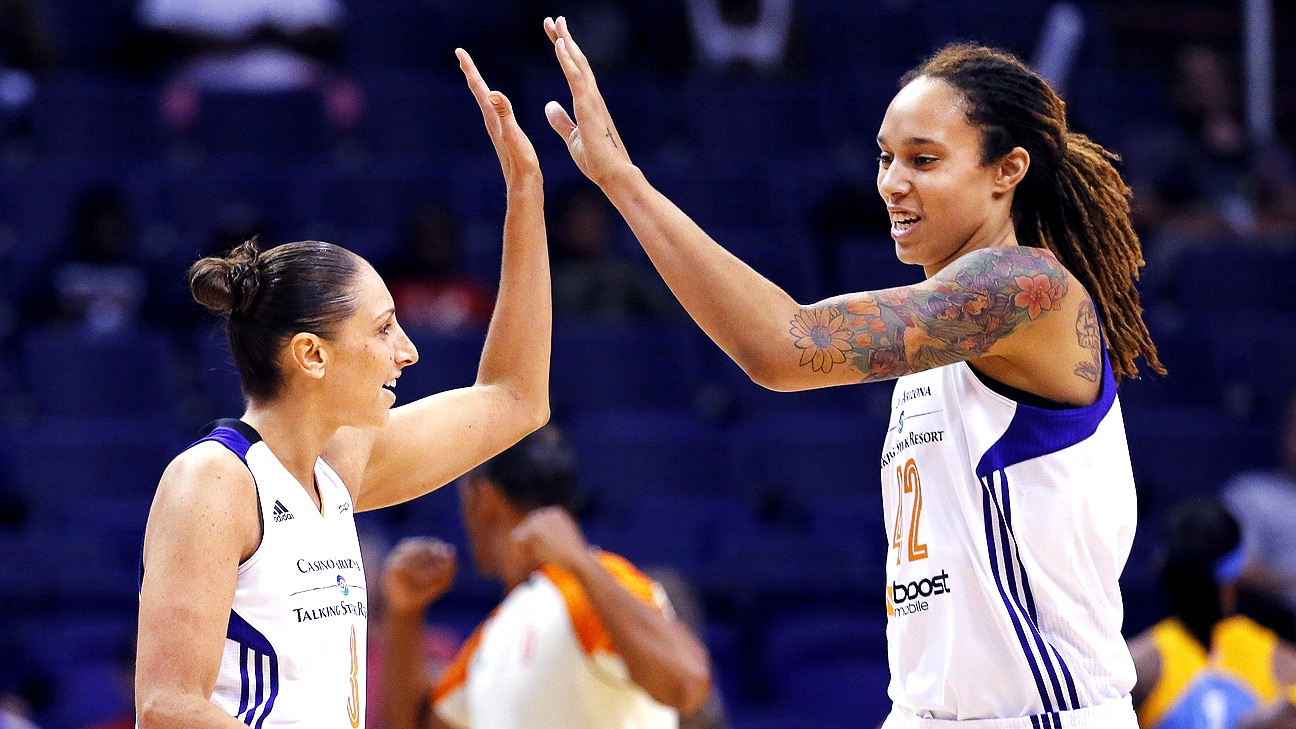 WNBA - Phoenix Mercury bringing their A-game at midseason