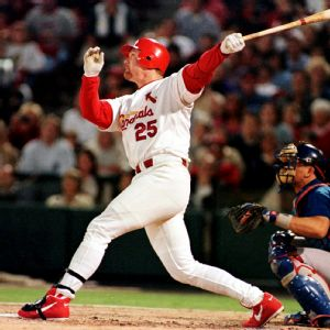 Mark McGwire Cardenales 1998