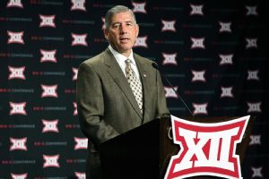 Big 12 commissioner Bob Bowlsby says NCAA enforcement is broken and cheating pays.
