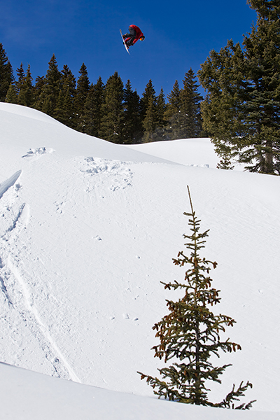 Fun fact: Cam Fitzpatrick's first pair of skis were Travis Rice's hand-me-downs. Luckily both of them got over their experimental ski phase quickly.