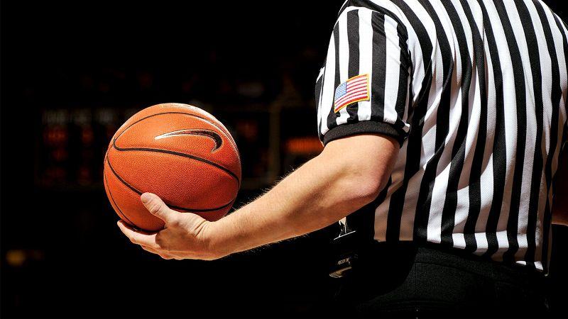 Referee, Basketball