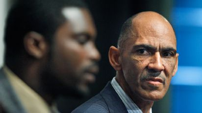 Tony Dungy and Michael Vick