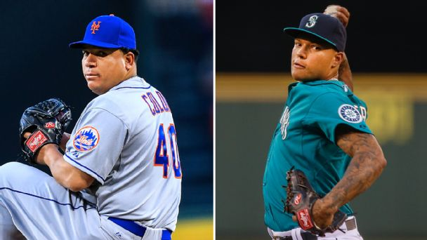 Bartolo Colon  and Taijuan Walker