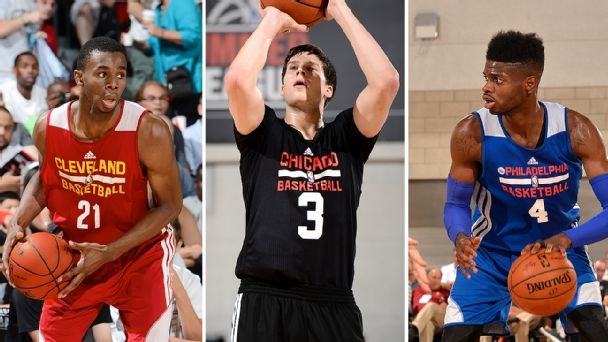 Andrew Wiggins, Doug McDermott and Nerlens Noel