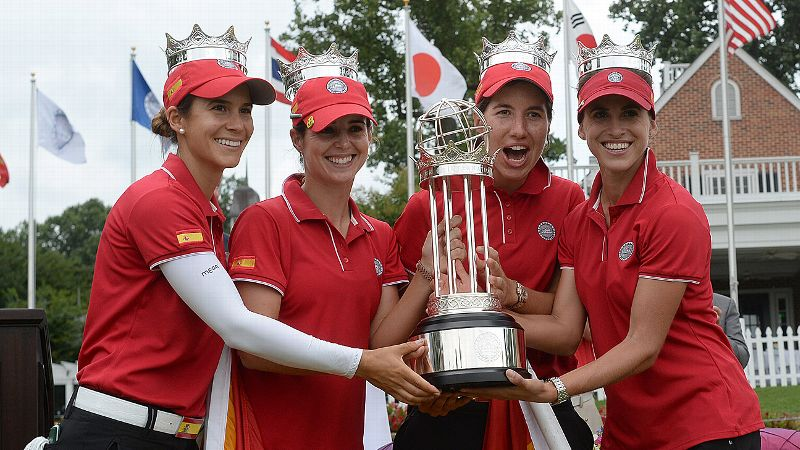 Spain's foursome for the inaugural International Crown have been friends on and off the golf course for years.