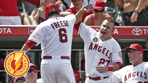 David Freese and Mike Trout