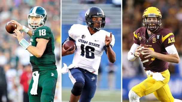 Connor Cook, Chuckie Keeton, Taylor Kelly