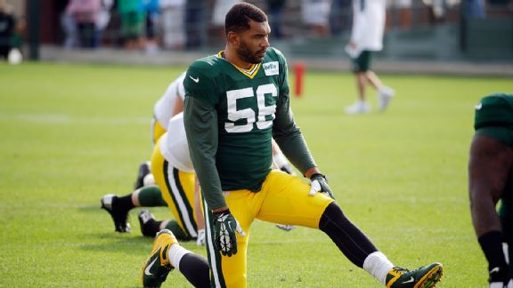 Julius Peppers no siente presión en Green Bay
