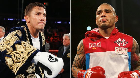 Gennady Golovkin and Miguel Cotto