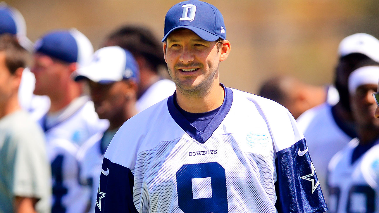 Tony Romo to sit out Dallas Cowboys' preseason opener ...  Tony Romo to si...