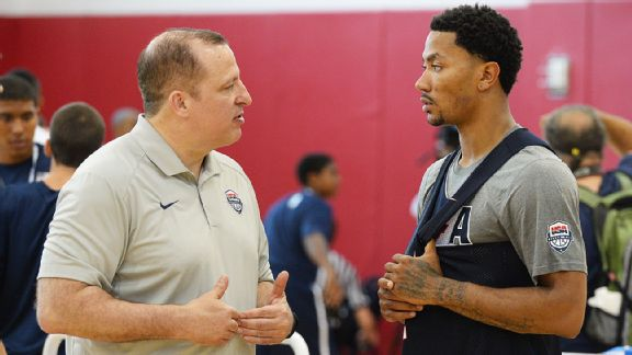 Tom Thibodeau, Derrick Rose