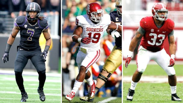 Shaq Thompson, Eric Striker, Trey DePriest