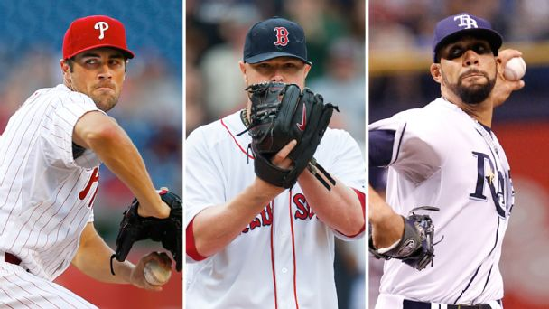 Cole Hamels, Jon Lester & David Price