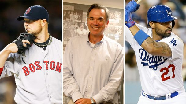 Jon Lester, Billy Beane, Matt Kemp