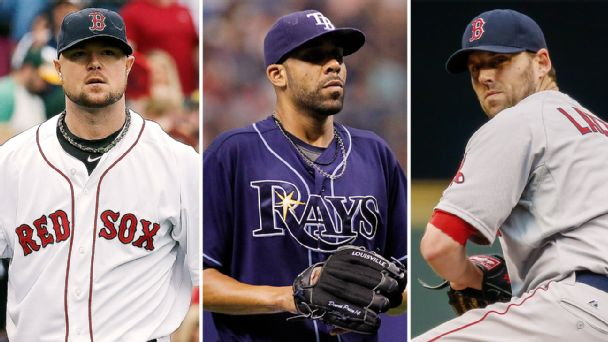 Jon Lester, David Price, John Lackey