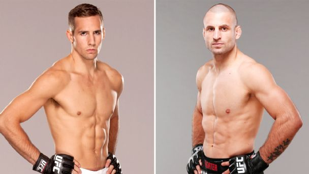Rory MacDonald and Tarec Saffiedine