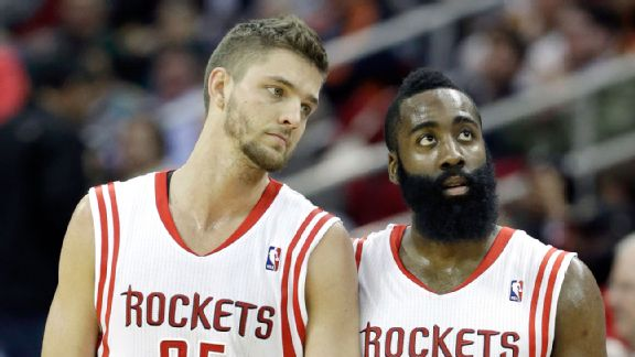 Chandler Parsons and James Harden