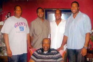 Gene Strahan and sons