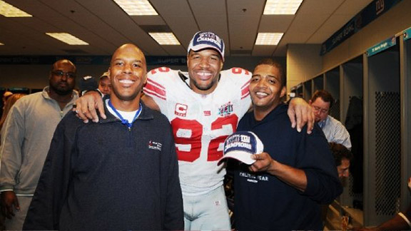Victor, Michael and Chris Strahan.