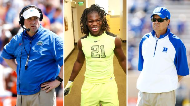 Will Muschamp, Malik Jefferson, David Cutcliffe
