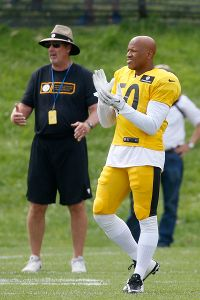 Keith Butler and Ryan Shazier