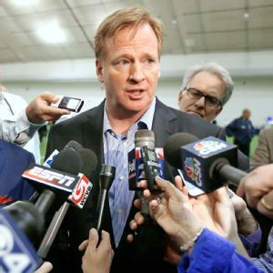 NFL commissioner Roger Goodell acknowledged the need to implement severe punishment for personnel guilty of domestic abuse.