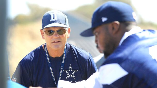 Rod Marinelli and Henry Melton