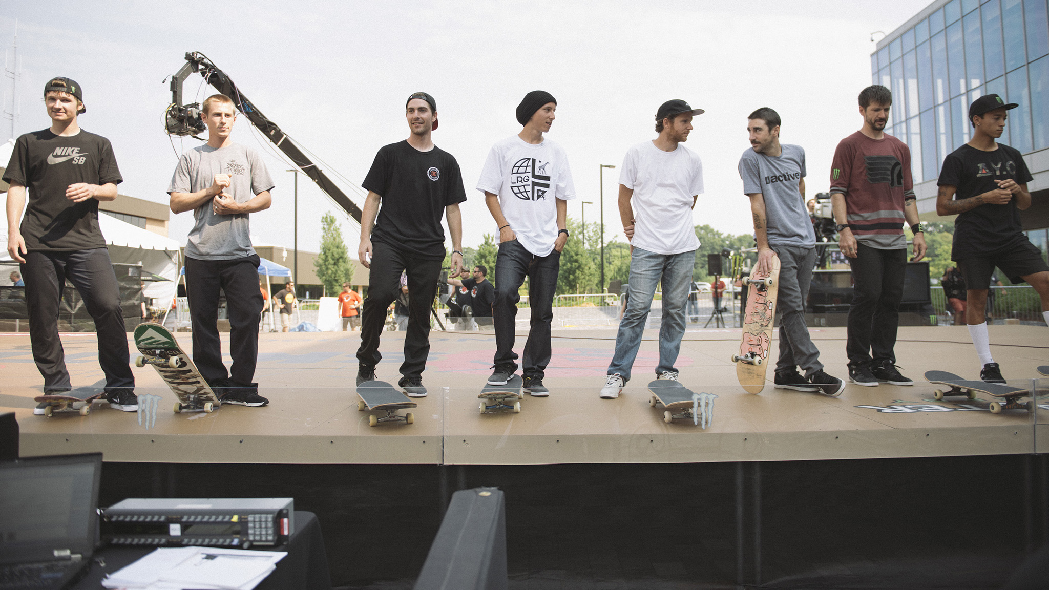 Game of Skate lineup