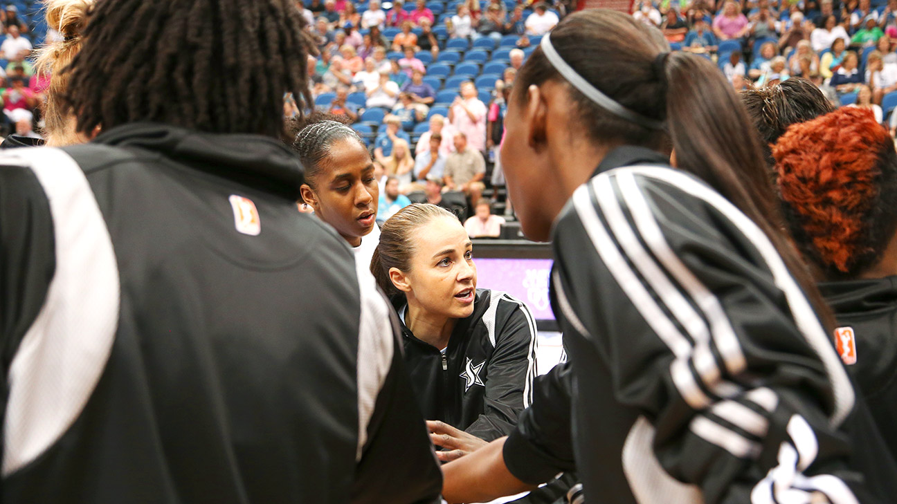 Becky Hammon, named an assistant coach for the Spurs on Tuesday, has always seen the game through a coach's lens, as if basketball's X's and O's had been coded into her DNA, writes Kate Fagan.