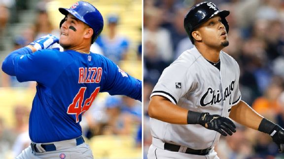 Anthony Rizzo and Jose Abreu
