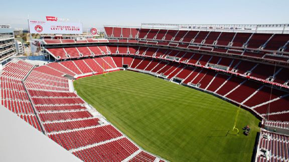 Levi s stadium seating chart pictures directions and history