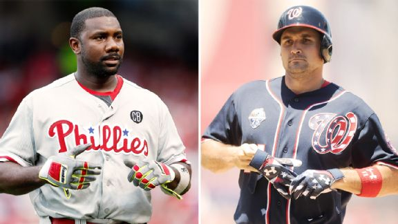 Ryan Howard, Ryan Zimmerman