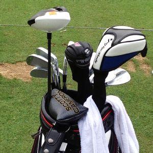 Steve Flesch's golf bag