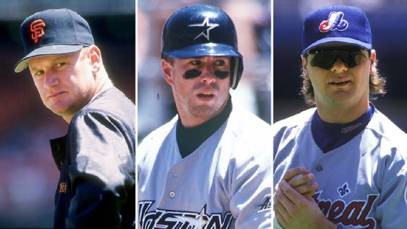 Matt Williams, Jeff Bagwell & Larry Walker