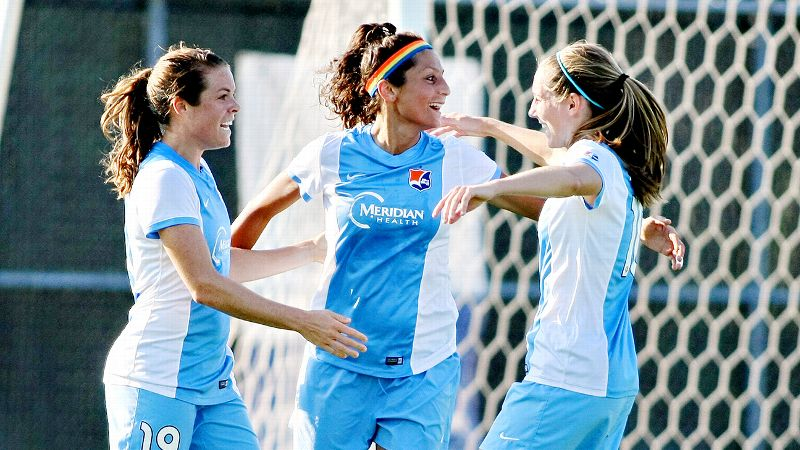 The joyousness of Nadia Nadim's play is as appealing and as distinctive as the rainbow headband she wears on the field.